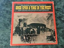 ONCE UPON A TIME IN THE WEST ORIGINAL SOUNDTRACK VINYL LP MORRICONE