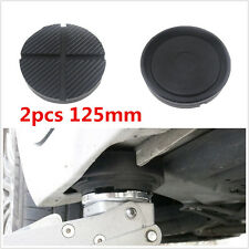 Universal 2 Pcs Cross Slotted Frame Rail Rubber Pad For Pinch Weld Side Jackpad (Fits: Scorpion)