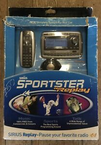 COMPLETE SYSTEM FOR CAR W/ RADIO SIRIUS SPORTSTER REPLAY SPTK2