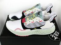 Adidas ZX4000 4D Printed Futurecraft White Grey Green UK 3 4 5 6 7 8 US New