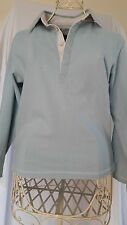 JOULES PALE BLUE SWEAT SHIRT TOP SIZE MED 12