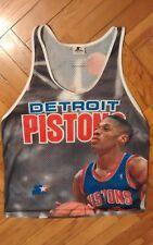 Vintage Dennis Rodman Detroit Pistons Starter Jersey Medium