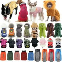 Pets Dog Hoodie Jacket Puppy Cat Warm Jumper Sweater Winter Coat Apparel Clothes