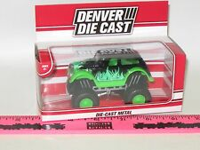 The Menards ~ Green monster truck Denver Die Cast vehicle