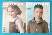 OTTOBRE Kids Fashion Herbst 4/2019  Größen 50-170cm  NEU 1A  abs. TOP