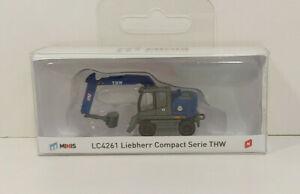 Lemke Minis LC4261 Liebherr Compact Radbagger Serie THW , Spur N, 1:160, NEU