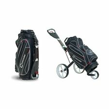 Concourse CBM3 Golf Push Cart Trolley, Compact, Foldable Design  - BAG INCLUDED!