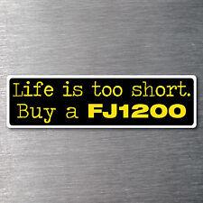 Buy a FJ1200 sticker Premium quality 7 yr water & fade proof vinyl  motor bike