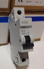 New MEM EATON AD16B 16AMP  Circuit Breaker B16 MCB