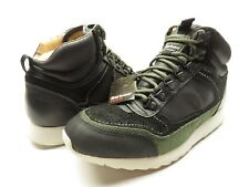 NWT BARBOUR Black Hiking Boots High Top HIGHLAND Men's Boots Size 9.5
