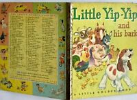 Little Yip Yip and His Bark 1st ed 1950 Little Golden Book Gergely Jackson