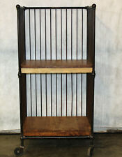 Vintage, Industrial, Rolling Cart, Bindery Cart, Craft, Industrial Furniture