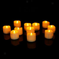 12x Flameless LED bougie chauffe-plat pour mariage Memorial décoration B