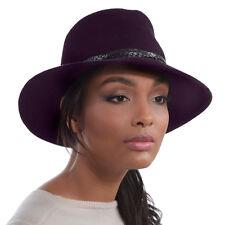 Eric Javits Luxury Designer Women's Fashion Headwear Hat - Anette - Plum
