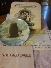 Knowles The Bald Eagle 1988 The Majestic Birds Series Daniel Smith Ltd Ed Plate