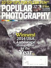 Popular Photography Magazine Jul 2014 USA Landscape Photographer of the Year