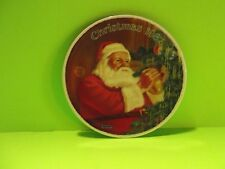 """Norman Rockwell Limited Edition Collector Plate 1987 """"Santa""""s Golden Gift"""""""