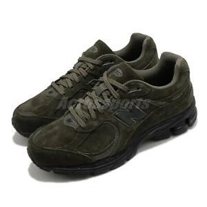 New Balance 2002R Green Black Suede Men Women Unisex Lifestyle Shoes ML2002RM D