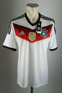 Germany Jersey 2014 Size M DFB adidas World Cup Home Champion New