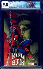 King In Black #2 MICHAEL TURNER ASPEN VARIANT CGC 9.8 Statue of Liberty Cover