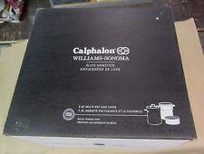 New Calphalon Williams Sonoma Elite NonStick 8 QT Multi-Pot 1881950 w/Steamer &