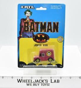 Batman MOSC NEW Diecast Metal ERTL 1989 Joker Van