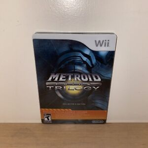 Metroid Prime Trilogy: Collector's Edition (Nntendo Wii, 2009) Mint Condition