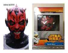 EMS Shipping New Star Wars Darth Maul Rubber Mask High Quality Made in Japan