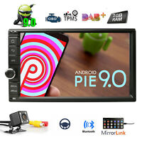 """7"""" Quad Core Android 9.0 Car GPS Stereo RAM 2GB Headunit DAB+ OBD2 Touch screen"""