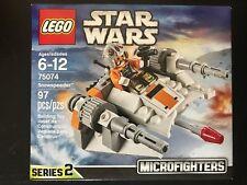 LEGO STAR WARS MICROFIGHTER 75074 Snowspeeder NISB New & Sealed