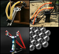 Pro Powerful Metal Catapult Hunting Fishing Camping Outdoor Slingshot Catapults
