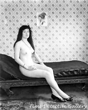 Storyville Prostitute #17 by E.J. Bellocq, New Orleans, LA -Historic Photo Print