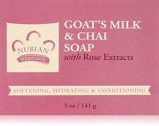 Bar Soap Goat's Milk & Chai 5 Oz by Nubian Heritage