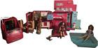 Mattel Barbie Dream House Camper RV Glam Camper + Pool with dolls