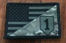 New listing 1st Infantry Division Multicam Us Flag Morale Patch Tactical Military Army Usa