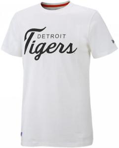 Detroit Tigers Men's T-Shirt Men's New Era MLB Baseball Logo T-Shirt - New