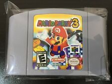 Mario Party 3 Nintendo 64 *Fast/Free Shipping* Cleaned and Working Guaranteed!!
