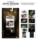 Twilight New Moon Sticker Pack Reusable Breaking Dawn Edward Bella RARE