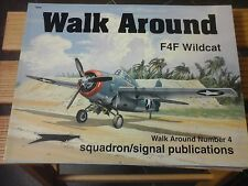 SQUADRON SIGNAL WALK AROUND F4F WILDCAT N.4