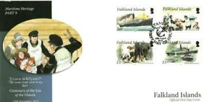 FALKLAND ISLANDS 2012 MARITIME HERITAGE (5TH SERIES) FDC PORT STANLEY