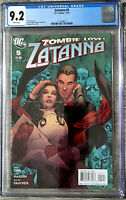 Zatanna #5 Stephanie Roux Cover CGC 9.2 DC Comics 2010