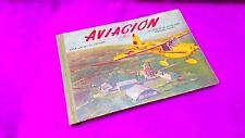 AVIACION, ALBUM AERONAUTICO, HISTORIAL,  AEREOS CLUBS BARCELONA-SABADELL 1955