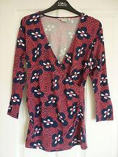 Boden Hip Length V Neck Floral Tops & Shirts for Women