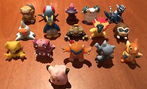 Vintage Pokemon Finger Puppets Nintendo Bandai Rare X16 1996 - 2008