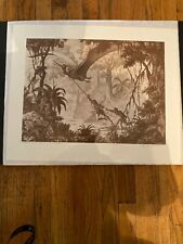 "Ray Harryhausen ""Valley of the Mists"" BIRD Signed Print  1993"
