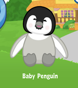 Webkinz Baby Penguin Virtual PET Adoption Code Only Messaged Very Rare PET PROMO