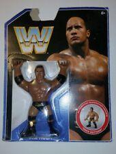WWE THE ROCK - Mattel Retro Series 2 Action Figure 2017 NEW (Hasbro Style) WWF