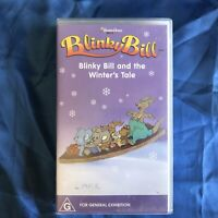 Blinky Bill - Blinky Bill and The Winter's Tale - Vhs Video Tape Australian 90's