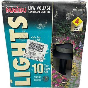 Malibu Intermatic LX50610PD Low Voltage Tier Light Set Of 10 4 Watt New