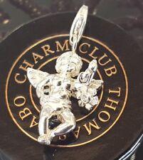 Neuer Thomas Sabo Engel mit Diamant Charm Eisblume DC 0019-153-14